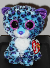 "Ty Beanie Boos - LIZZIE the 6"" Leopard ~ Claires Exclusive ~ 2016 NEW ~ MWMTS"