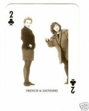 French & Saunders -  Portrait Playing Card