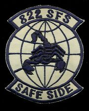 USAF 822nd Security Forces Squadron Iraqi Freedom Patch RP-3