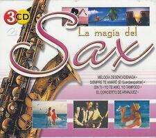 La Magia del Sax 45 Maravillosas Canciones de La Magia del Sax Box set 3CD