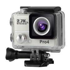 "Pro4 2.0"" Cam WiFi Wireless 14MP 2.7K Ultra Sport Action Camera Video as gopro"