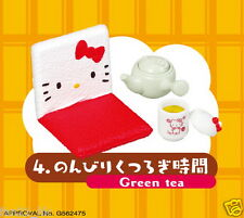 NEW Re-ment Sanrio miniature Hello Kitty nonbiri Relaxation Day rement SET 4