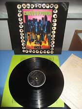 """Circus Of Power """"Vices"""" LP RCA EUROPE 1990 - INSERT"""