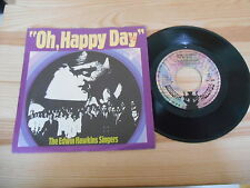 "7"" Pop Edwin Hawkins Singers - Oh, Happy Day (2 Song) BUDDHA (ohne Stempel)"