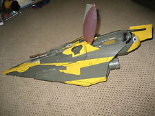Star Wars Jedi Starfighter Ship Saesee Tiins Near Complete