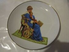 Bedtime Collectible Plate by Norman Rockwell from the museum Inc.
