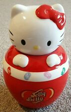 Jelly Belly Hello Kitty Ceramic Sweet Candy Jar