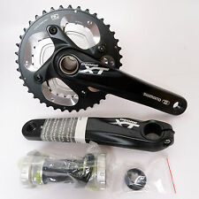 mr-ride Shimano XT FC-M785 Crank set 40/28T 175mm 2x10 Speed Black W/bb 2015