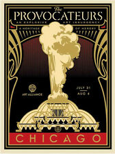 Peoples Climate March - Provocateurs - Gold - Obey Giant - Signed and Numbered
