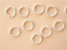 20 Sterling Silver Open Jump Rings 6mm 20g