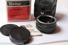 Vivitar Auto 2x Auto Tele-Converter Model 2X-21 For Olympus OM Clean - USED D40