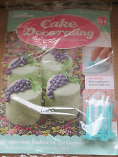 Deagostini Cake Decorating Magazine ISSUE 154 WITH GRAPEVINE PEG EMBOSSERS