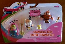 The Powerpuff Girls Townsville Pack Fuzzy Lumpkins Mayor Manboy Doll Figures New