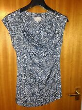 GHOST Top Blue Purple Grey Size 14 Designer Office Wedding Evening Party Casual