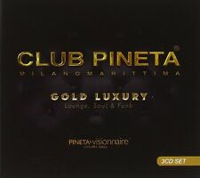CLUB PINETA GOLD LUXURY (Milano Marittima) Lounge, Soul & Funk 3 CD SET