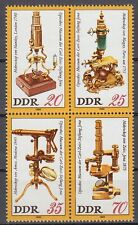 DDR East Germany 1980 ** Mi.2534/37 Optisches Museum | Museum | Carl-Zeiss-Jena