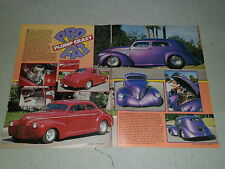 1941 BOWTIE COUPE 1937 WILLYS article / ad