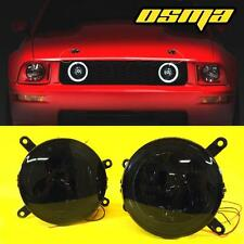 05 06 07 08 09 Ford Mustang GT Hood Front Grille LED Halo Smoke Fog Lights Lamps