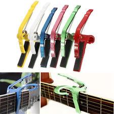 Capo Cejilla para Guitar Guitarra Clásica Acústica Electrica Profesional 6 Color