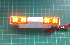Tamiya Wedico Bruder  LED Emergency quad flashing beacon Amber