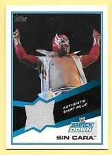 2013 Topps WWE Sin Cara Authentic Shirt Relic Card