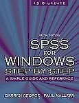 SPSS for Windows Step-by-Step: A Simple Guide and Reference, 13.0 upda-ExLibrary