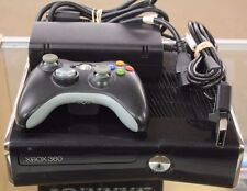Microsoft Xbox 360 S 250GB Glossy Black Console (NTSC) Kinect Included!