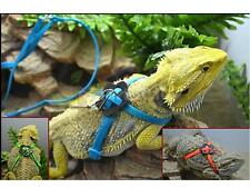 1pc Reptile Lizard Parrot Bird Harness Leash Adjustable Anti-bite Lead Rope