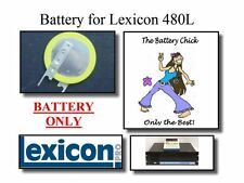 2 Batteries for Lexicon 480L Digital Effects - Internal Memory Backup Batteries