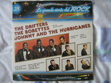 THE DRIFTERS BOBETTES JOHNNY & THE HURRICANES LP ITALIE