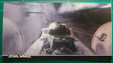 "Star Wars Topps 1996 3Di Widevision Card #54 ""Artoo Hanging On!"""
