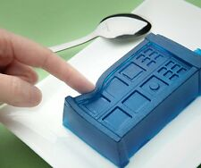 Dr  Doctor Who Tardis Silicone Ice Cube Tray Jello Mold Chocolate Gelatin Cake