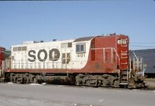 SOO 401 GP-9, Chicago, Il, 12/92; Kodachrome Original