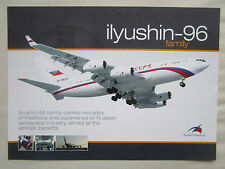 2000'S DOCUMENT RECTO VERSO ILYUSHIN FINANCE IL-96 FAMILY AIRLINER