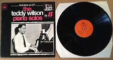 TEDDY WILSON-12 INCH 33RPM RECORD-JAZZ SOLO PIANO