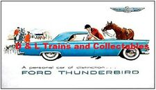 Billboard for Plasticville Holder 1955  Ford Thunderbird A Personal Car