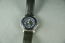 Esprit Quartz Watch Water Resistant 30m Leather Strap Date Luminous Hand/Markers