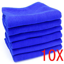 10pcs Large Soft Microfiber Absorbent Towel Car Cleaning Kitchen Wash Cloth