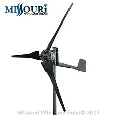 DC output Confederate 500 watt 3 blade 12 volt home wind turbine high wind