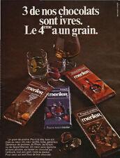 Publicité  MENIER ... chocolat