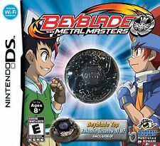 NEW BEYBLADE Metal Masters Collectors Edition NINTENDO DS BAKUSHIN SUSANOW 90 WF