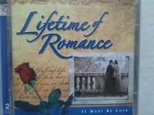 "TIME LIFE ""LIFETIME OF ROMANCE"" - It Must Be Love. 2004.  2x CDs. 32 Tracks. VGC"