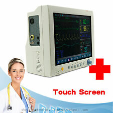 Touch Screen ,Vital signs ICU Multi 6 Parameters Patient monitor,2y Warranty,CE