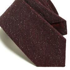Gucci Men's Amaranth Red Silk Twill Neck Tie 351816 NWT