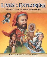 LIVES OF THE EXPLORERS (9780152059101) - KATHLEEN KRULL (HARDCOVER) NEW
