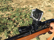 GoPro Scope Mount.  Fits on Rifle Scopes or Barrel