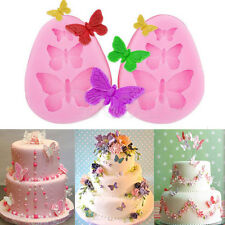 Cake Fondant Silicone Lace Mold Sugar Craft Mould Butterfly Cake Decorating Tool