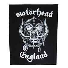 MOTÖRHEAD Backpatch ENGLAND Rückenaufnäher ♫ Lemmy Kilmister ♫ Rock And Roll ♫