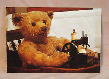 Steiff - Steiff  Teddy Sewing  Postcard
