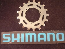 Shimano Dura Ace / 600 17T Cog UniGlide Cassette Chrome NEW / NOS- Fits All UG